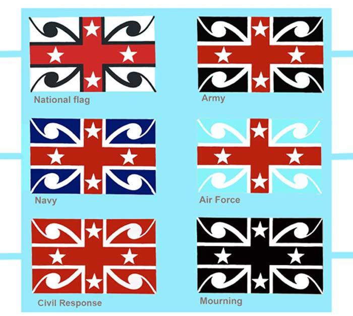 New Zealand Flag Debate - Lester Hall Art